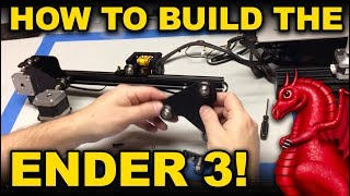 Creality Ender 3 assembly and pro build tips