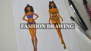 FASHION DRAWING | My Victoria
