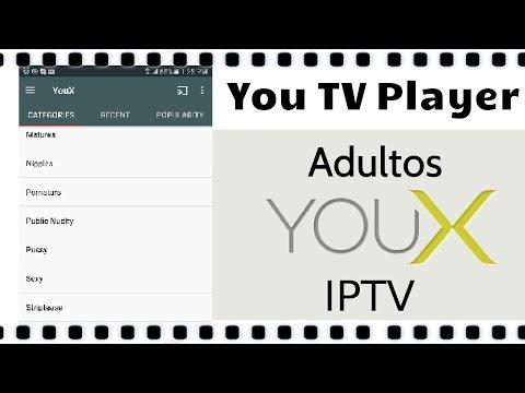 Revisado YouX beta - IPTV para adultos de You TV player app - Categorias y privacidad 2016