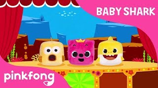 baby shark cube cube show toy show baby shark pinkfong songs for children