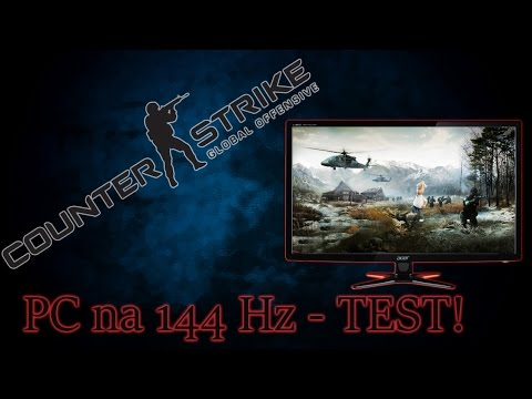 CS:GO na 144 Hz monitorze - TEST! | Acer XG270HU | 200 kl./s?
