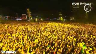 Coldplay - Yellow - Rock in Rio 2011