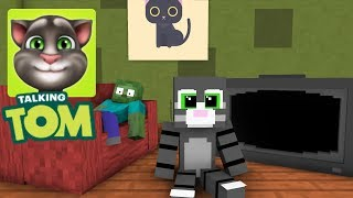 - Monster School My Talking Tom Challenge Minecraft Animation