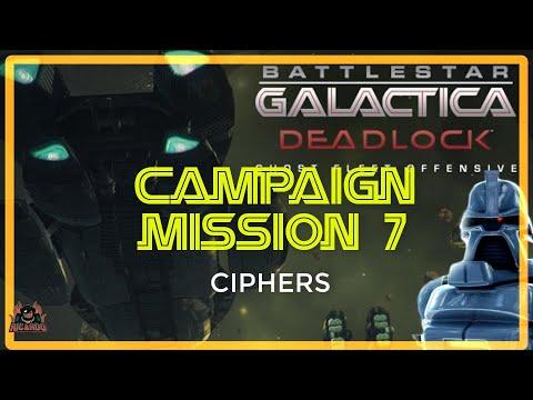 BSG Deadlock Ghost Fleet Offensive | Mission 7 CIPHERS (Battlestar Galactica Deadlock)