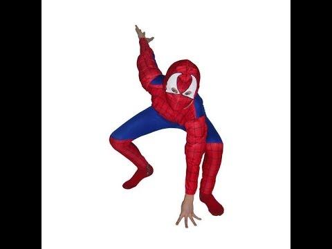 Костюмы карнавальные детский мир. Костюм человека-паука с мускулатурой. Поздравления с Новым Годом