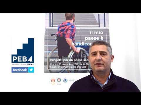 Videomessagio di Daniele Massaro per Peba