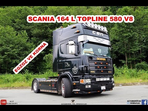 SCANIA / 164 L 580 / V8 TOPLINE EXHAUST