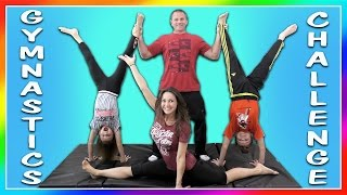EXTREME FAMILY YOGA CHALLENGE | We Are The Davises