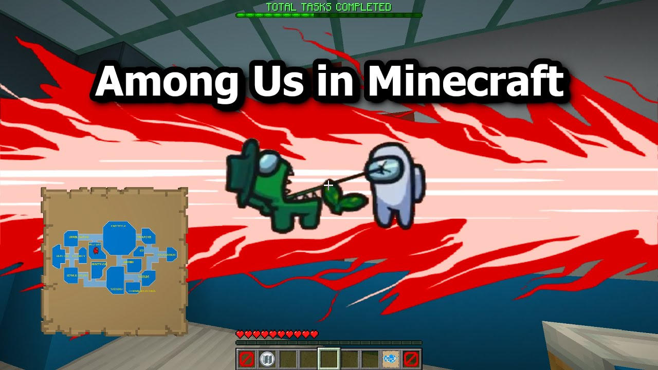 Among Us In Minecraft Youtube