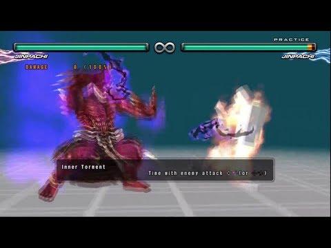 Tekken 5 DR - Jinpachi Mishima Command List - HD 1080p