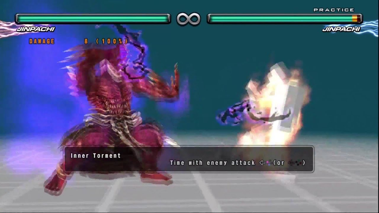 Tekken 5 Dr Jinpachi Mishima Command List Hd 1080p By Agamakus