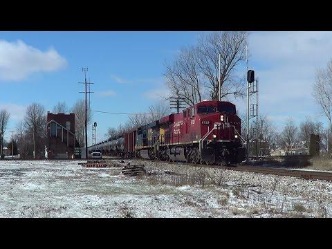 Z6W Oil Train, Ada and Dunkirk Ohio!!!!