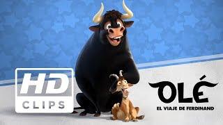 Olé, el viaje de Ferdinand | Clip Olfateando flores | Próximamente - Solo en cines
