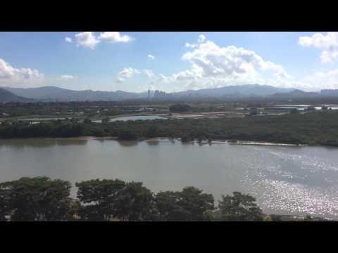 Shenzhen river border with China Hong Kong