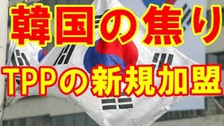 【韓国経済】「TPPの新規加盟条件が韓国には厳しすぎる」と韓国側は焦り 最大限の市場開放を迫られている