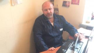 видео Залитый монитор