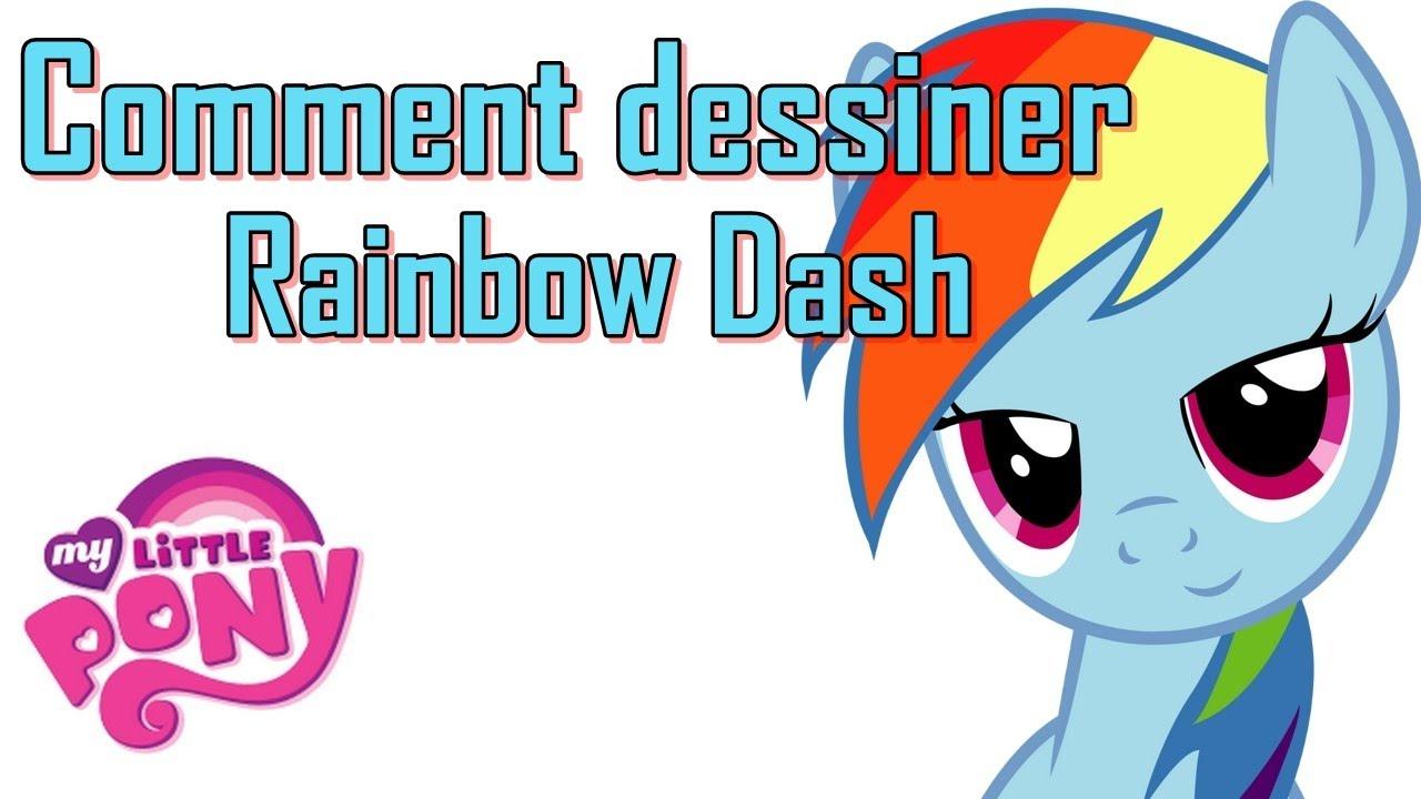 Comment Dessiner Rainbow Dash De My Little Pony Ok Draw