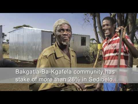 Sedibelo Platinum Mines - Mining with communities, creating a legacy