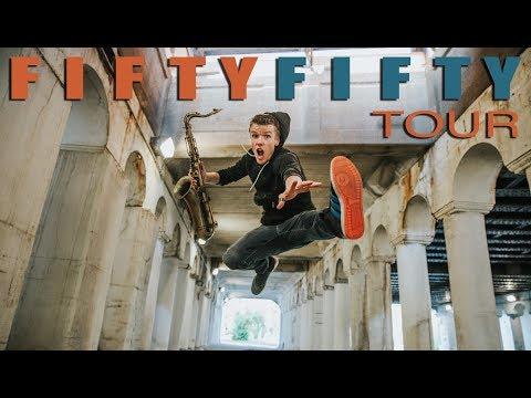 FiftyFiftyTour Announcement - Derek Brown