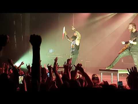 Skillet - Legendary 13/11/2019 Live In Poland, Polska, Warsaw, Warszawa, Stodoła