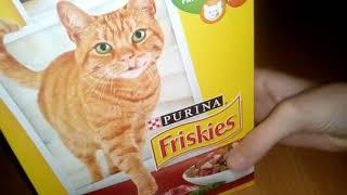 Каким кормом я кормлю свою кошку/ немного о Whiskas