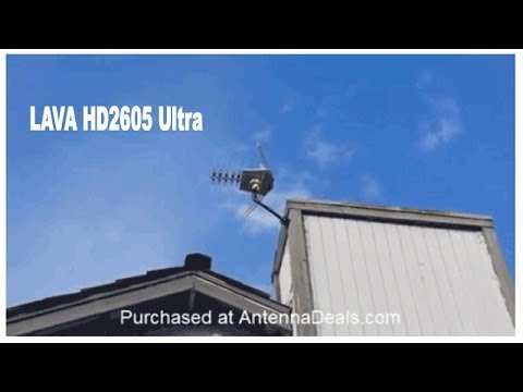 outdoor tv antenna installation instructions