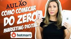 💡 COMO COMEÇAR DO ZERO no Marketing Digital como AFILIADO HOTMART e Trabalhar em Casa | Luana Franco