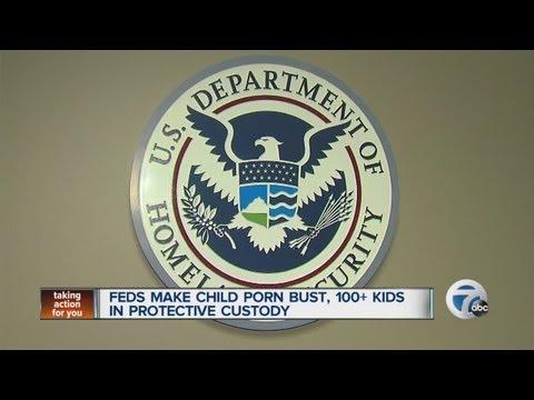 Feds crack down on child pornography, hundreds arrested in bust