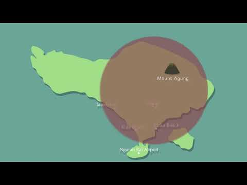 Bali is Safe (Infographic) - Motion Graphic