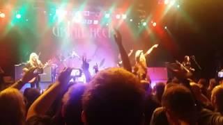 Uriah Heep 17.11.2015 Warszawa klub Progresja