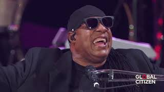 Download Stevie Wonder | Live Global Citizen 2017 ~ Master Blaster (Jammin) & Higher Ground | Part 1 MP3 song and Music Video
