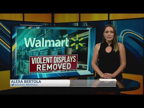 Timmy Tim - Walmart removes violent video game displays.