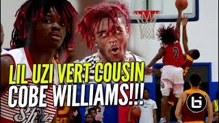 lil uzi vert cousin cobe williams has game ballislife highlights