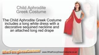 Child Aphrodite Greek Costume