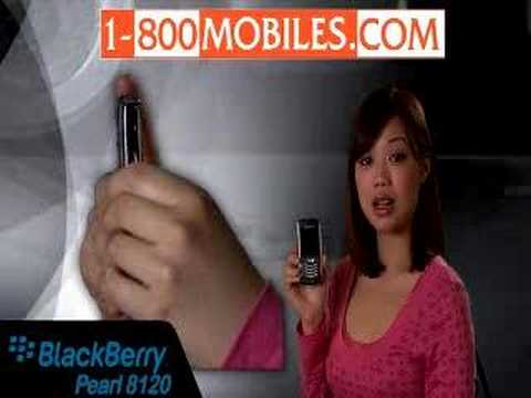 Blackberry Pearl 8120 Cell Cell phone Evaluation by 1800mobiles.com thumbnail