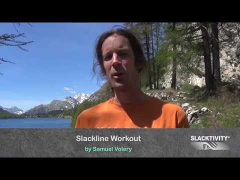 Slackline Workout Explanations