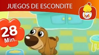 Juegos de escondite - Capítulo Especial de media hora  | Cartoon para Niños - Luli TV