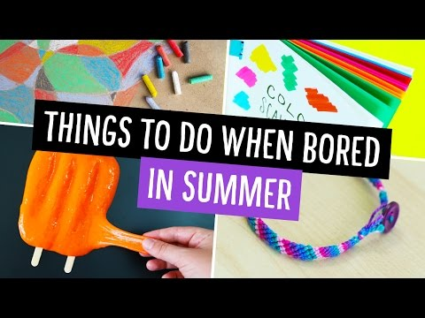 Things To Do When You're Bored in Summer! ☀️ Collab w/ Makoccino | Sea Lemon