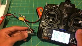 Binding devo7 transmitter to devo RX601 receiver