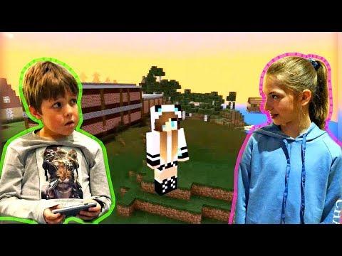 Видео ОБЗОР игры со Светой 🏦 Как сделать в #Майнкрафт БАНК? Строим в #Minecraft Игры для детей