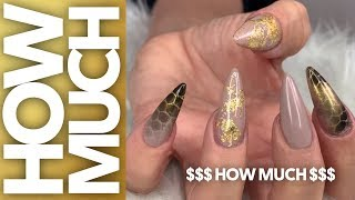 Your client walks in the door and shows you her beautiful new clutch she just bought, what do know, wants a sick set of nails to match! how go about this, products use, ...