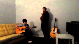 """""""Happy"""", """"Timber"""" and """"Hey Brother"""" - Acoustic Violin and Guitar Cover"""