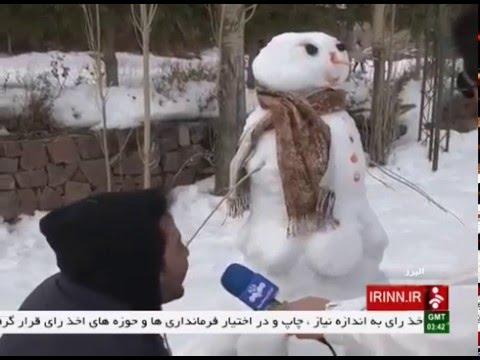 Iran Dizin ski resort, Snowman festival جشنواره آدم برفي پيست اسكي ديزين ايران