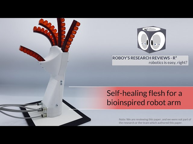 SHERO - biomorphic self-healing flesh for a robot | R3 Roboy's Research Reviews #11