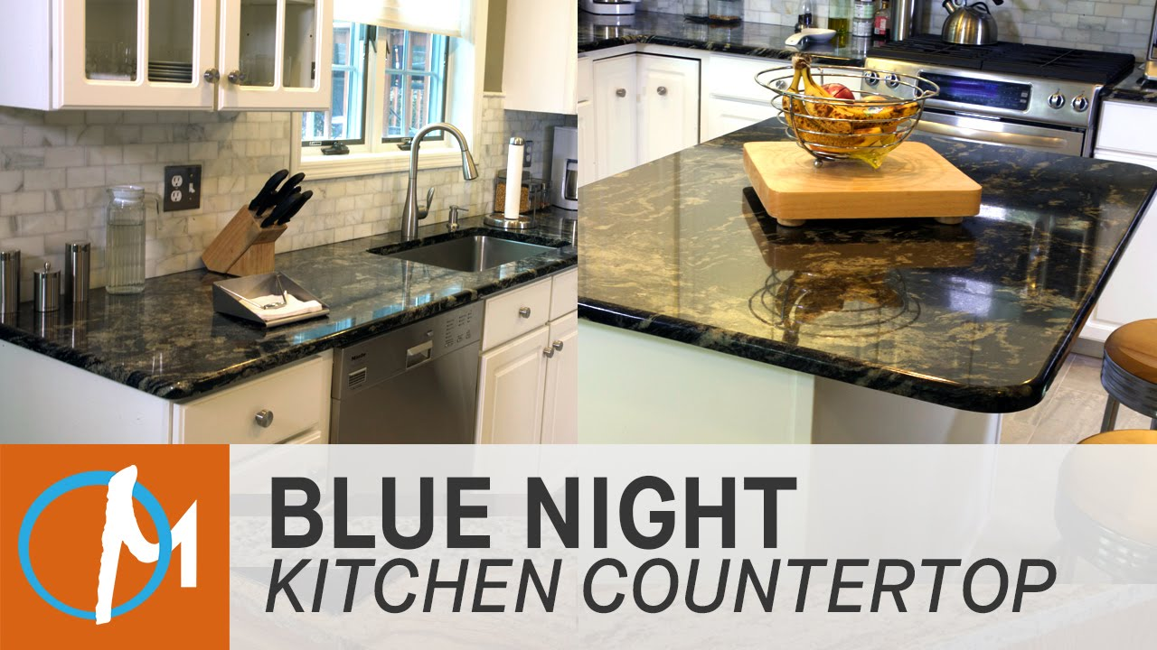 Granit Arbeitsplatte Blue In The Night Blue Night Granite Kitchen Countertops | Marble.com - Youtube