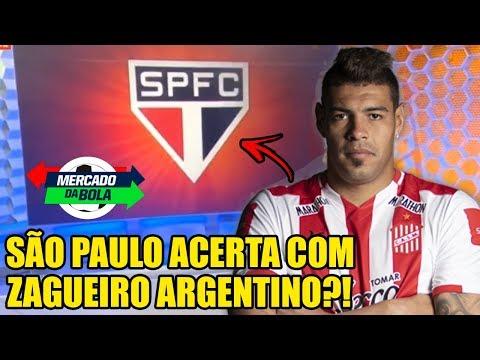 SÃO PAULO ACERTA COM ZAGUEIRO ARGENTINO!? - GAVETA NEWS