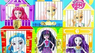 Cheeky Babe with Chickenpox Locks Up My Little Pony Equestria Dolls thumbnail