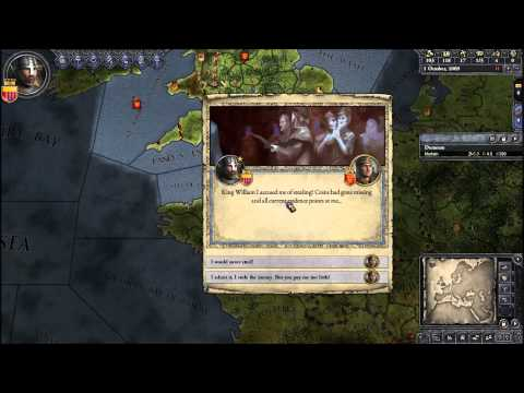 Let's Play Crusader Kings II 2 (Duke William The Treacherous Bastard, Royal Law Lawyering, Progeny)