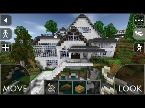 Let 39 s play survivalcraft modern house youtube for Modern house roleplay