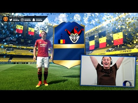 OMFG ITS THE JOKER CARD!!! FIFA BINGO HISTORY HAS BEEN MADE!!!